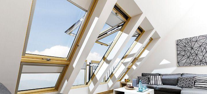 Roof Windows, Loft Ladders, Skylights in Ireland by FAKRO